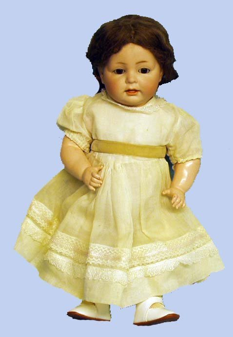 197: GERMAN BISQUE K*R SIMON & HALBIG TODDLER DOLL