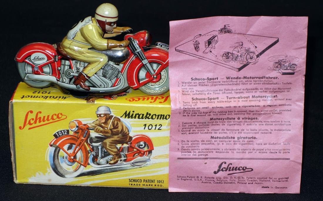 SCHUCO MOTORCYCLE TOY