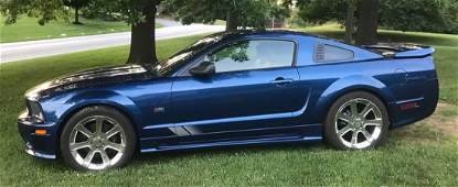 2006 FORD MUSTANG GT DELUXE COUPE - SALEEN