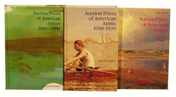 1006: HISLOP'S American Art Sales Index: 6 editions NR