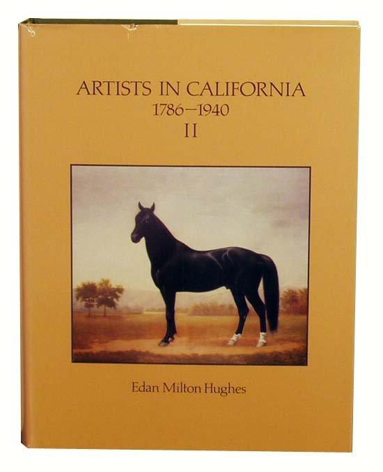 1007: EDAN HUGHES' Artists in California 1989 NR
