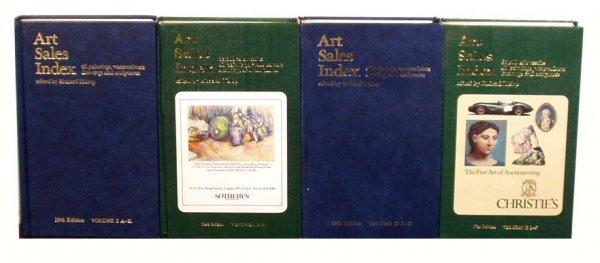 1009: HISLOP'S Art Sales Index 1986-1988 (2) NR
