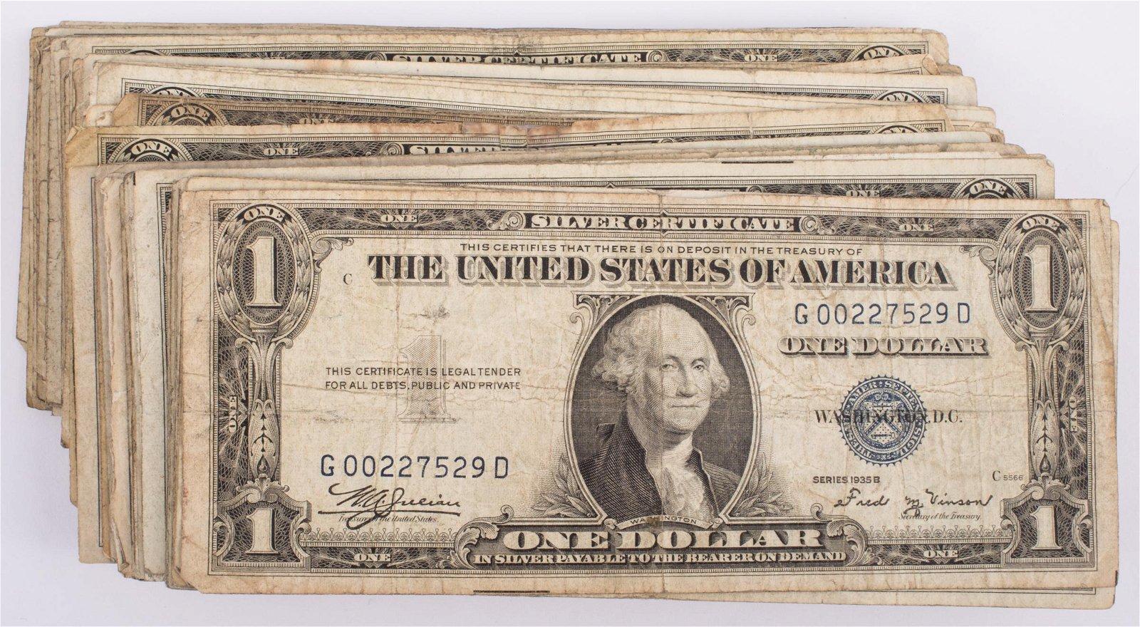 1935 $1 SILVER CERTIFICATES (108)