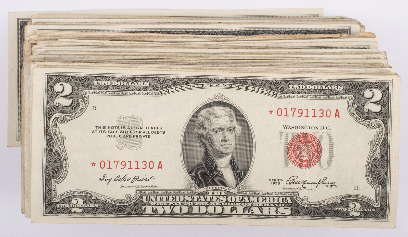 $2 UNITED STATES RED SEAL NOTES (177)