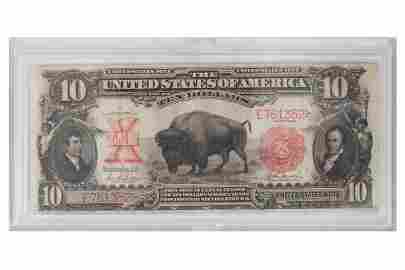 1901 $10 UNITED STATES NOTE