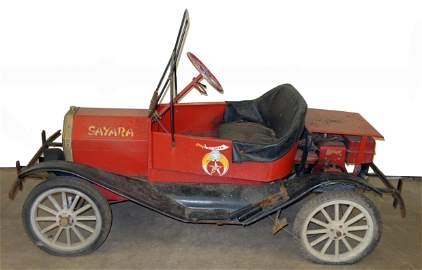 SHRINERS MODEL T STYLE CAR