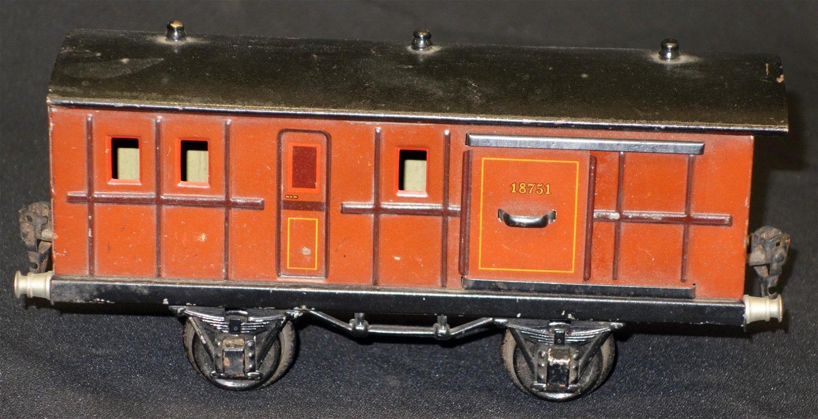 MARKLIN BAGGAGE CAR #18751