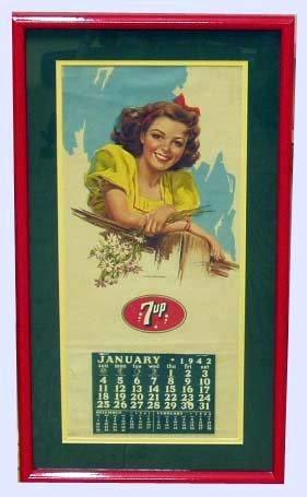 15: 7-UP ADVERTISING CALENDAR 1942