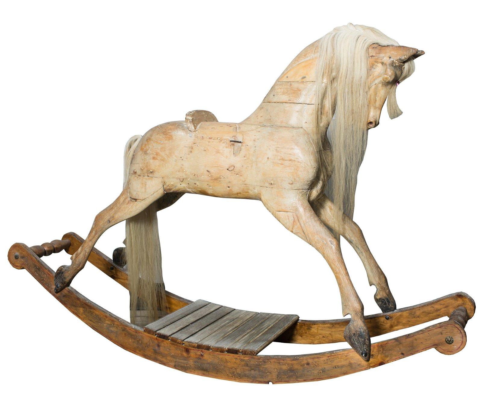 LYONS BROS. ROCKING HORSE