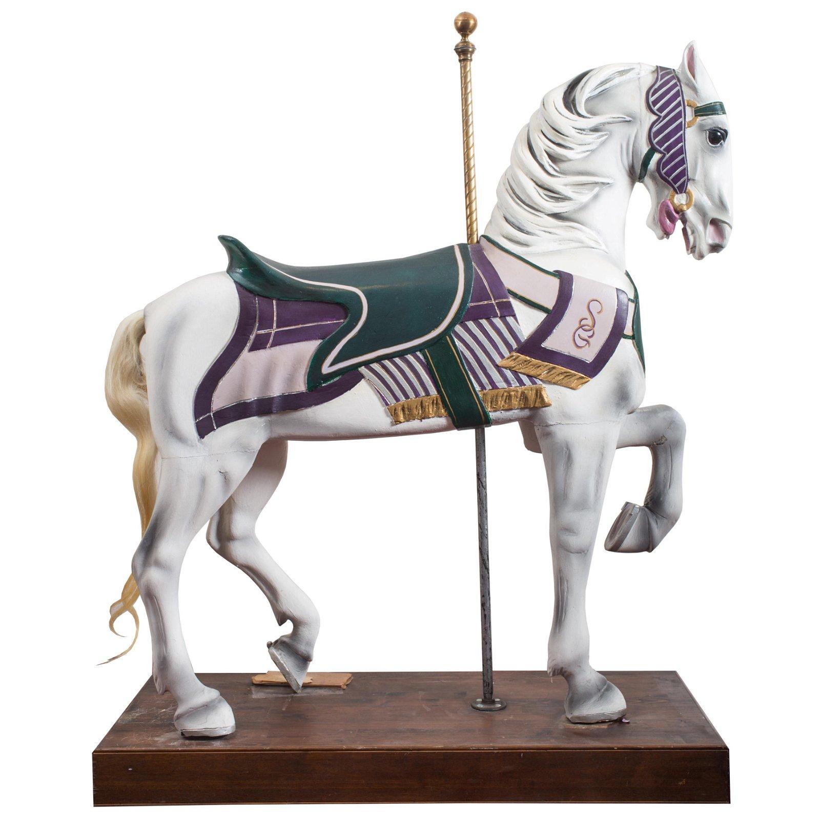 STEIN & GOLDSTEIN STANDER CAROUSEL HORSE