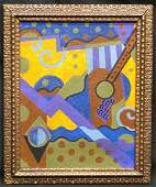 EVANS ABSTRACT PAINTING