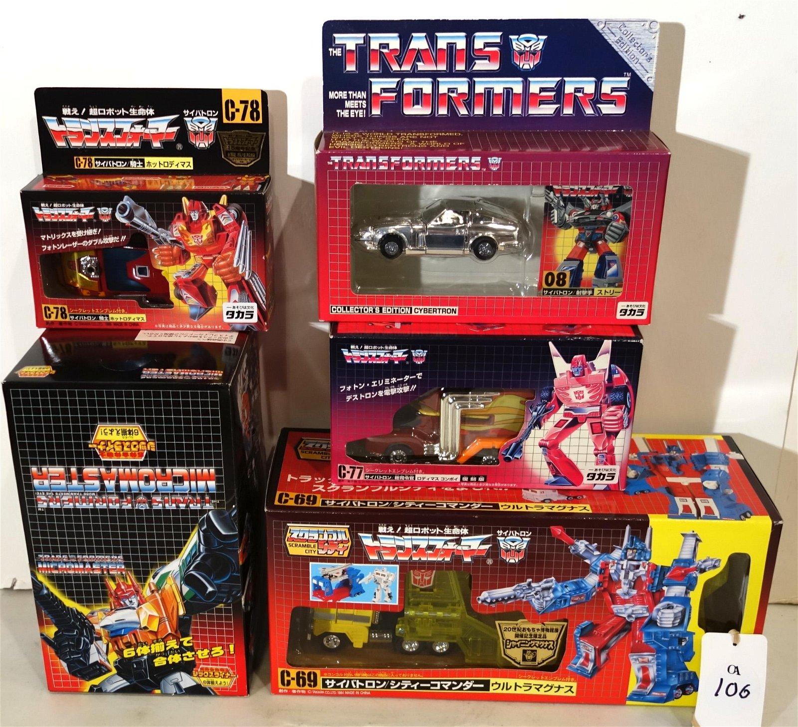 (5) TRANSFORMERS