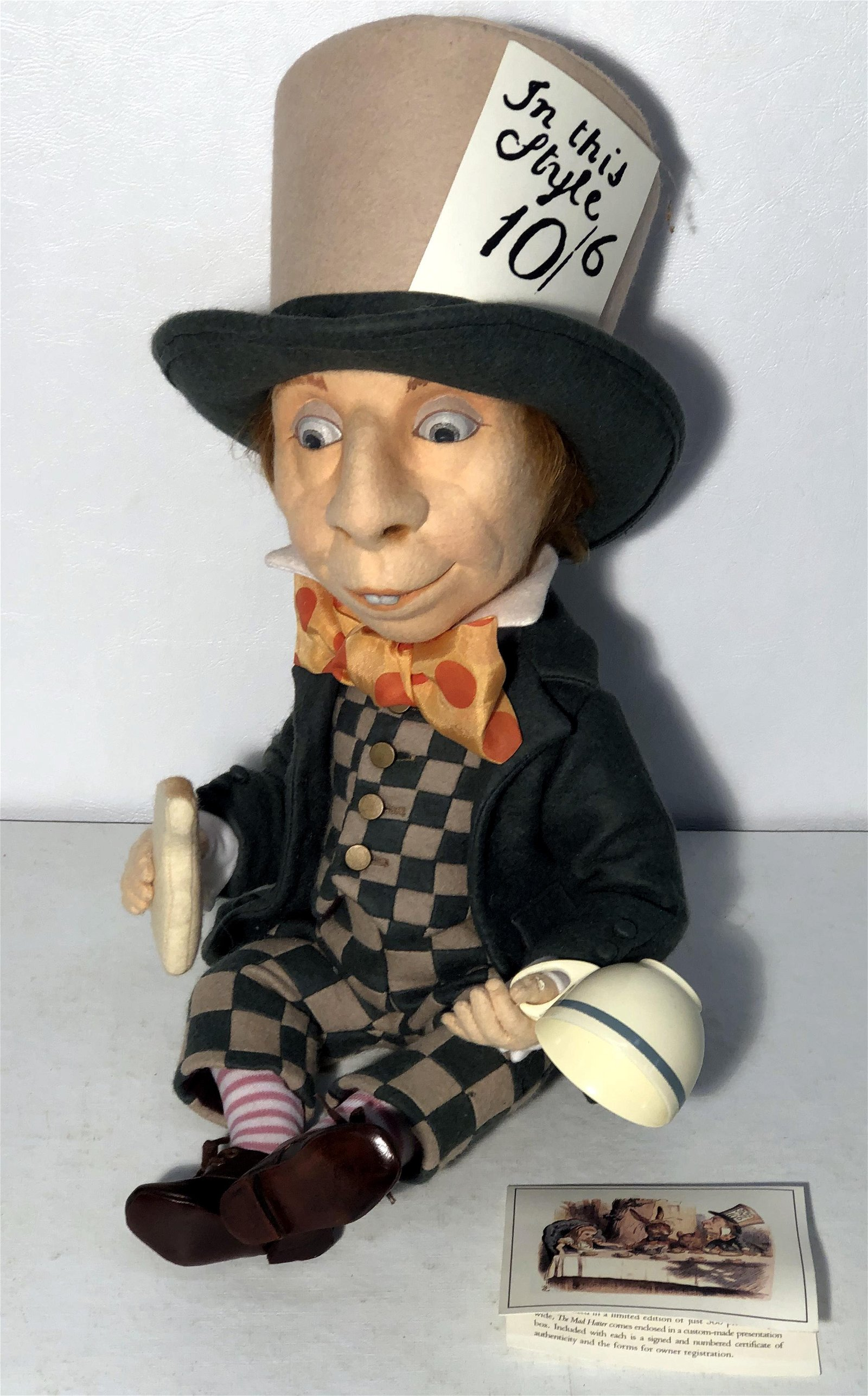 """R. JOHN WRIGHT """"THE MAD HATTER"""""""