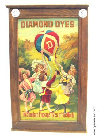 6: DIAMOND DYES STORE CABINET