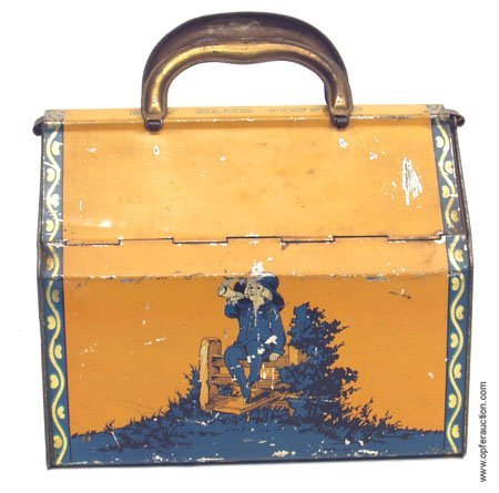 15: BOY BLUE TOFFEE LUNCH PAIL - HORNER TIN LITHO
