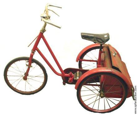 236: GRESHAM FLYER PEDAL TRICYCLE - PRESSED STEEL