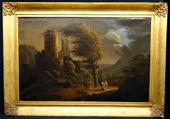 EARLY CONTINENTAL LANDSCAPE PAINTING