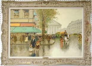 ANDRE GISSON PARIS PAINTING