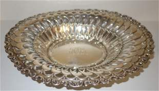 WHITING STERLING BREAD BASKET