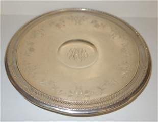 GORHAM STERLING PASTRY PLATE