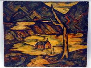 H. B. SCHLEETER NEW MEXICO PAINTING