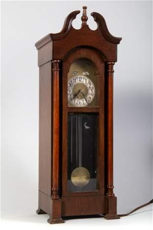 MINIATURE TALL CASE CLOCK
