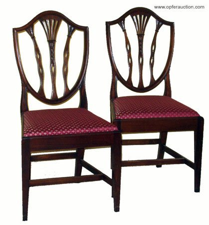 281: POTTHAST DINING CHAIRS