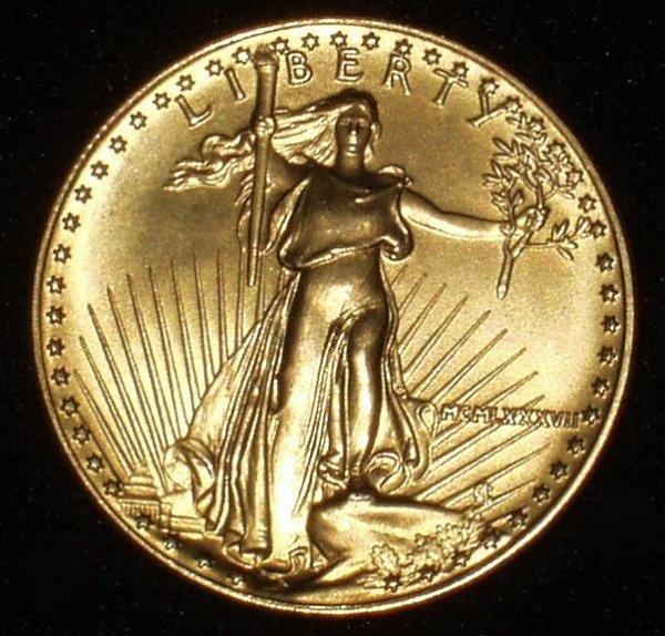 20B: 1987 50 DOLLAR GOLD COIN