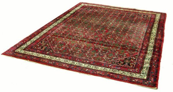 6: RED ORIENTAL RUG - ROOMSIZE