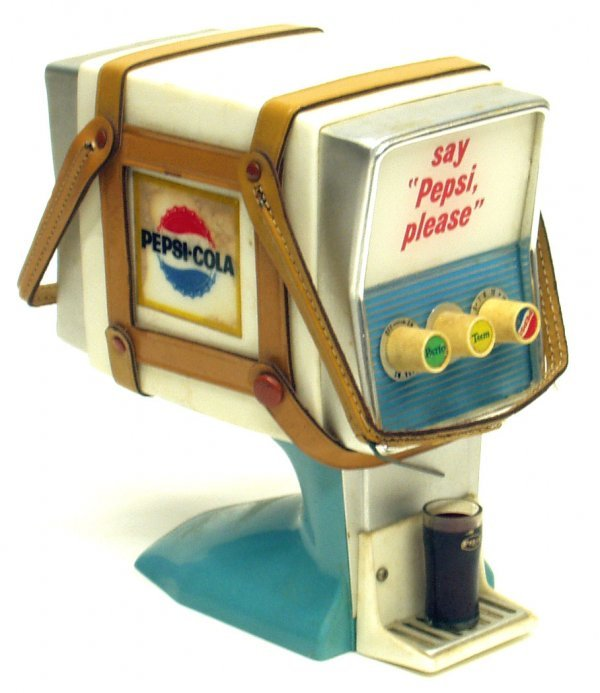1: PEPSI COLA DISPENSER RADIO