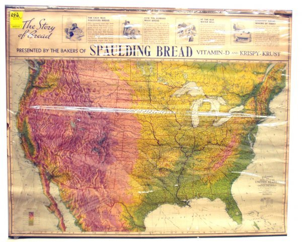 10: SPAULDING BREAD ADVERTISING MAP