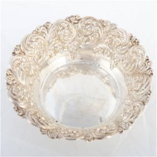 STERLING CANDY DISH