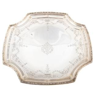 WHITING STERLING PLATE #A830