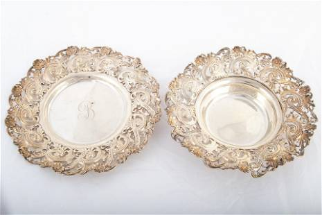 STERLING BOWL & UNDERPLATE