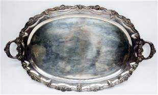 MEXICAN STERLING SERVING TRAY