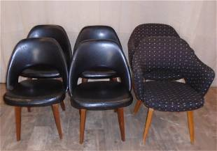 KNOLL DINING CHAIRS (6)