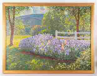 MALCOLM HUGHES LANDSCAPE PAINTING