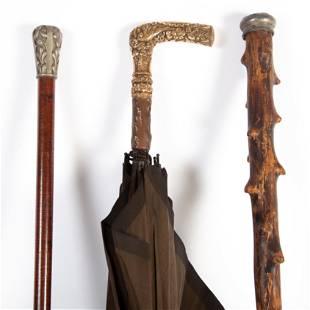 METAL CAPED CANES / UMBRELLA