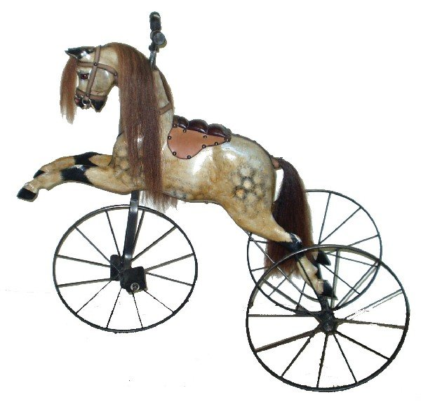 23: HORSE VELOCIPEDE