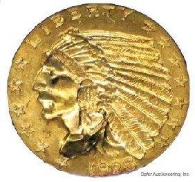 17: 1928 $2 1/2 DOLLAR GOLD COIN