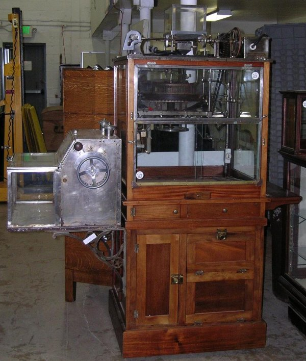 201: HOLCOMB & HOKE POPCORN MACHINE & PEANUT ROASTER