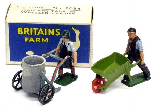 15: BRITAINS (2) FIGURES with ACCESSORIES