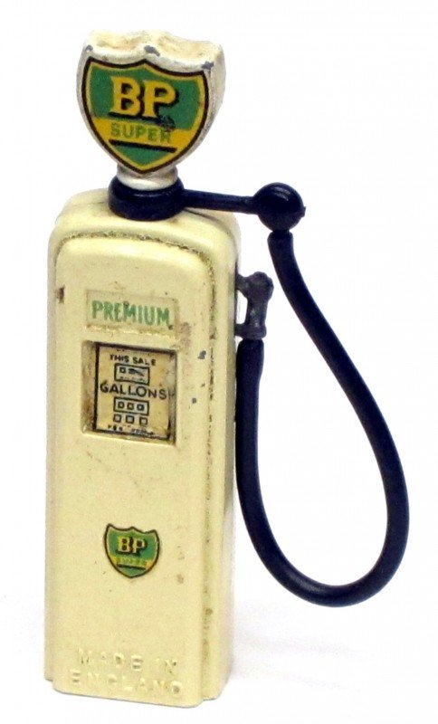 21: BRITAINS BP PREMIUM PETROL PUMP