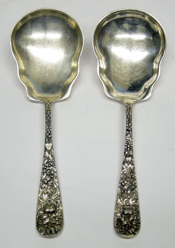 "14: STIEFF STERLING ""ROSE"" FLATWARE"