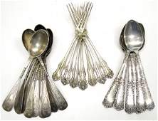 85: COIN & STERLING FLATWARE