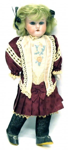 5: MABEL BISQUE DOLL