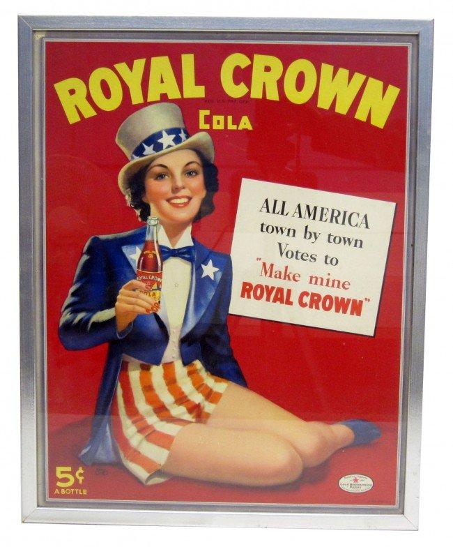 40: ROYAL CROWN COLA ADVERTISING