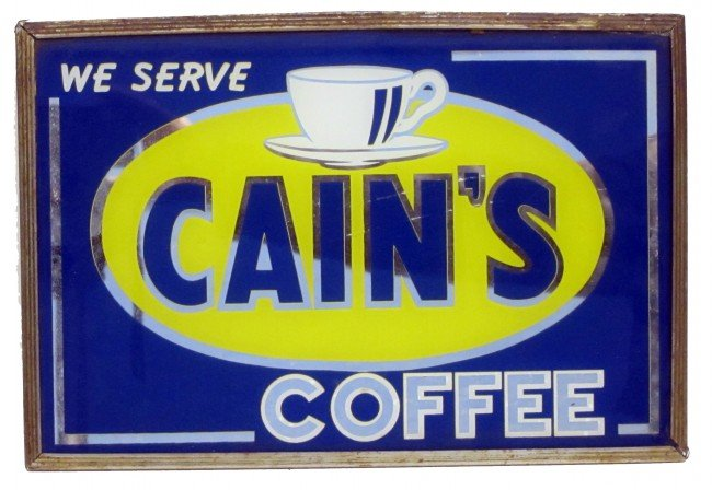 42: CAIN'S COFFEE SIGN