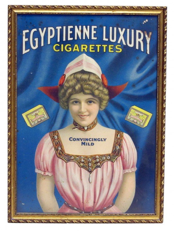 47: EGYPTIENNE CIGARETTES ADVERTISING