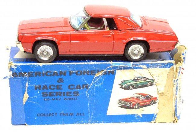 73: JAPAN TIN FORD THUNDERBIRD CAR